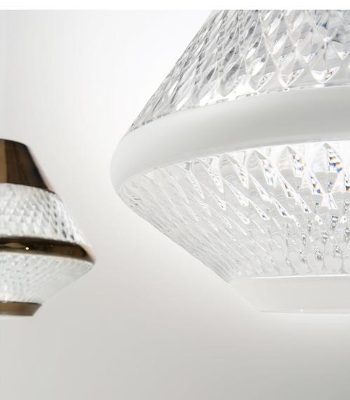 Oprawa sufitowa Italamp Fragrenzia 8306/S biała
