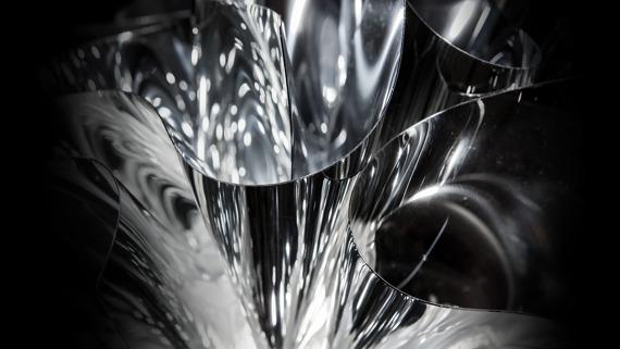 Plafon SLAMP Veli silver 78 cm