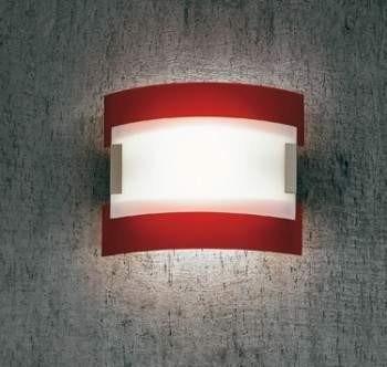 Plafon Sillux NEW YORK LS P/232 czerwony 61 cm